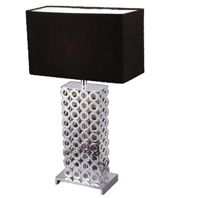 "Whiteline Imports Jasper 26"" H Table Lamp with Rectangle Shade"