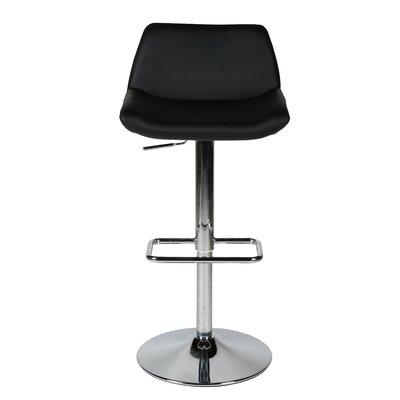 Whiteline Imports Maya Adjustable Bar Stool with Cushion