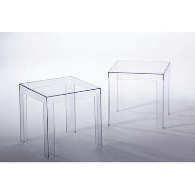 Whiteline Imports Rubi Side Table (Set of 2)