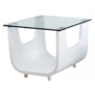 Whiteline Imports Saly Side Table