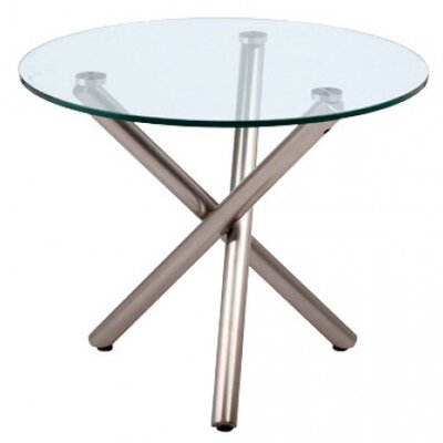 Whiteline Imports Lux Side Table