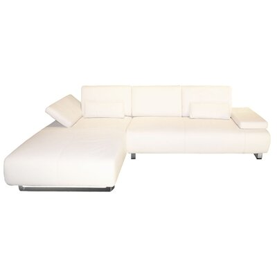 Whiteline Imports Emotion Sectional Chaise