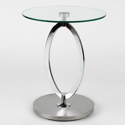 Whiteline Imports Kay Side Table