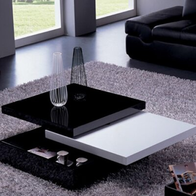 Whiteline Imports Mellow Motion Coffee Table Square