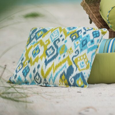 Laurie Bell Boca Grande Polyester Lumbar Indoor/Outdoor Pillow