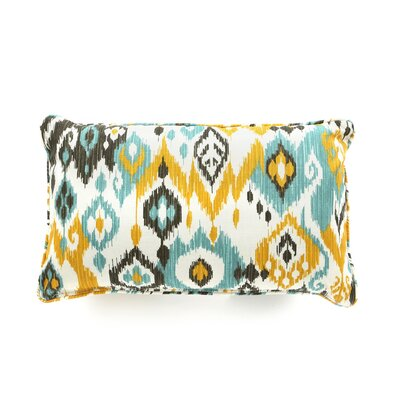 Laurie Bell Longboat Key Polyester Lumbar Indoor/Outdoor Pillow
