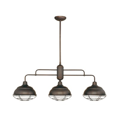 millennium lighting neo industrial 3 light kitchen pendant