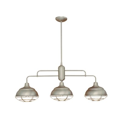 Neo-Industrial 3 Light Kitchen Pendant