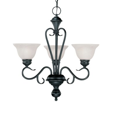 Devonshire 3 Light Chandelier