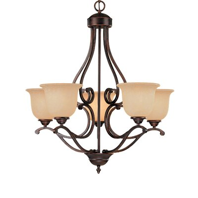 Millennium Lighting Courtney Lakes 5 Light Chandelier