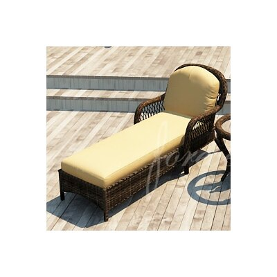 Leona Chaise Lounge with Cushion