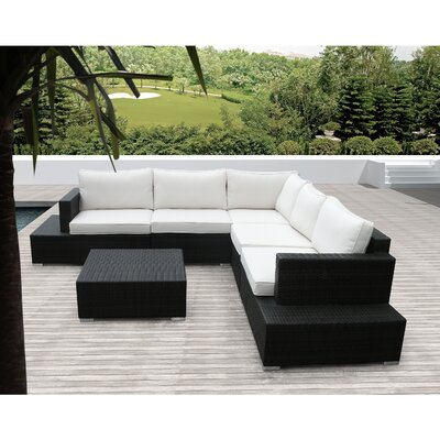 Sirio Acapulco 5 Piece Deep Seating Group with Cushion