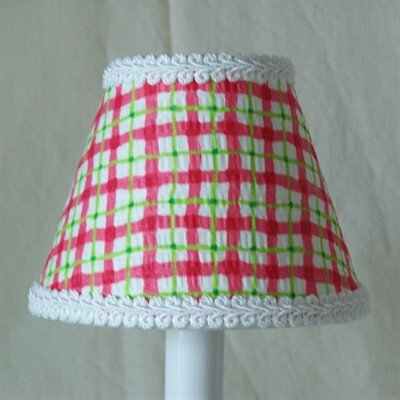 Silly Bear Lighting Cherry Plaid Chandelier Shade