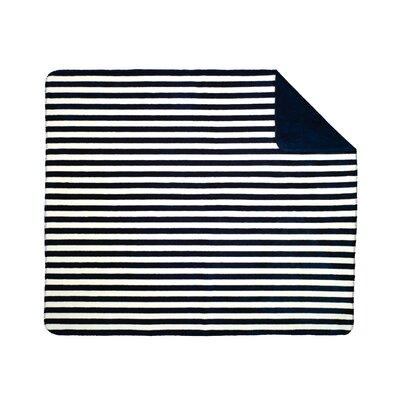 Acrylic Stripe Double-Sided Throw