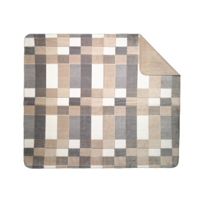 Denali Throws Acrylic Plaid Double-Sided Throw