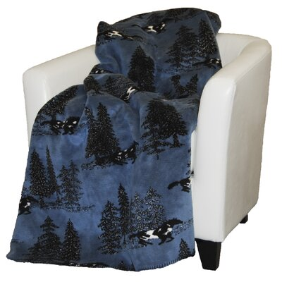 Denali Throws Acrylic Horse Flight Double-Sided Throw