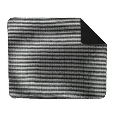 Acrylic Houndstooth Double-Sided Throw