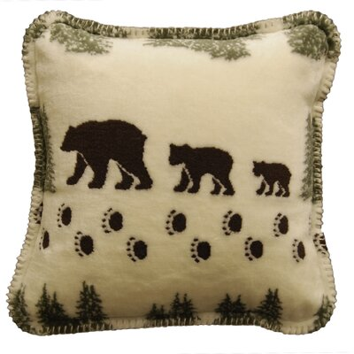 Acrylic / Polyester Bear Pillow