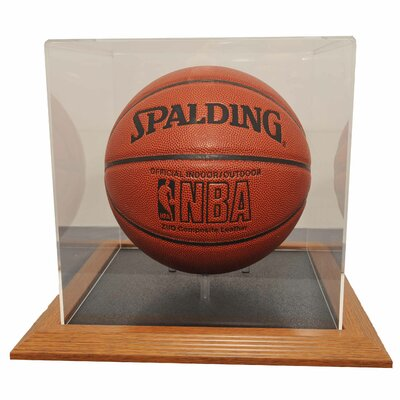 Caseworks International Basketball Display Case in Wood