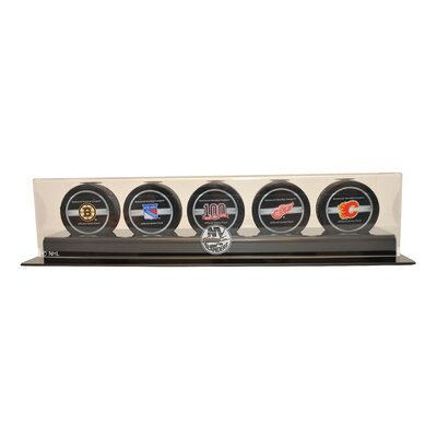 "Caseworks International 4.25"" Five Puck Display Case"