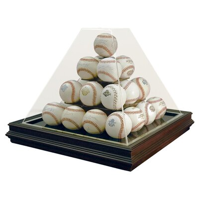 Caseworks International Pyramid Style 25 Ball Boardroom Display Case