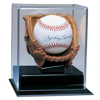 Caseworks International Soft Brown Glove Baseball Display Case