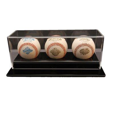 Caseworks International Three Baseball Display Case