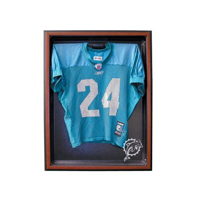"Caseworks International 6.875"" Cabinet Style Medium Jersey Display in Brown"