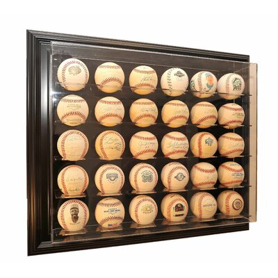 "Caseworks International Thirty Baseball ""Case-Up"" Display"