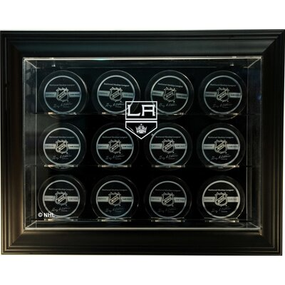 "Caseworks International NHL Twelve Puck ""Case-Up"" Logo Display Case"