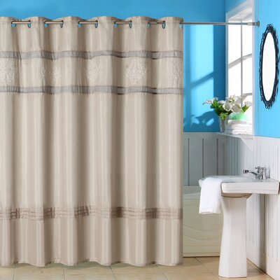 Radcliff Polyester Shower Curtain with Grommet