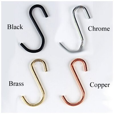 "Rogar Gourmet Grid or ""S"" Pot  Hooks (4 pack)"