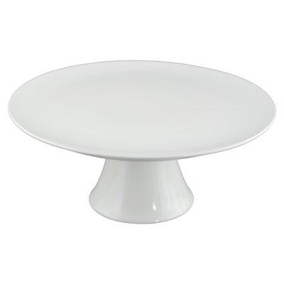 """Tannex White Tie 12"""" Round Cake Pedestal"""