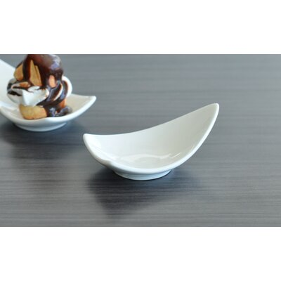 "Tannex White Tie 3.50"" Mini Triangular Dish (Set of 6)"