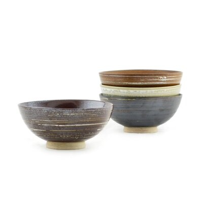 "Tannex Met 4.50"" Bowl (Set of 4)"