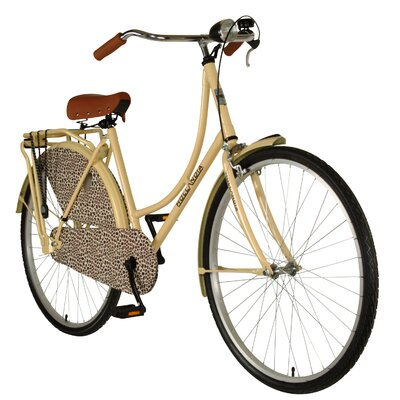 "Hollandia Woman's City Leopard 28"" Comfort Bike"