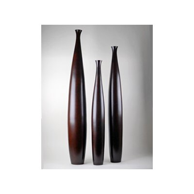 Modern Day Accents 3 Piece Tall Vase Set