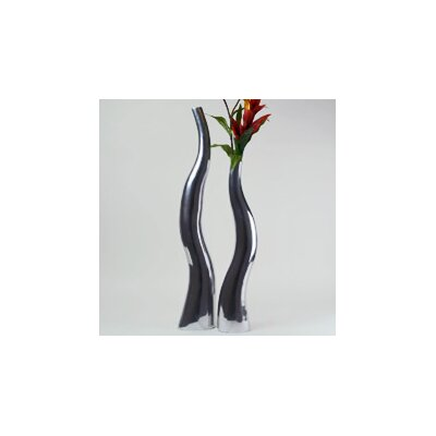 Modern Day Accents Wiggly Tall Vase (Set of 2)