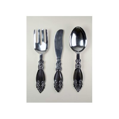 Fork, Knife and Spoon Wall Décor (Set of 3)