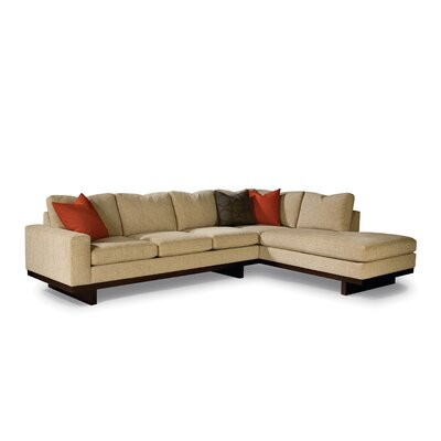 Thayer Coggin Studio MB Right Chaise Sectional Sofa