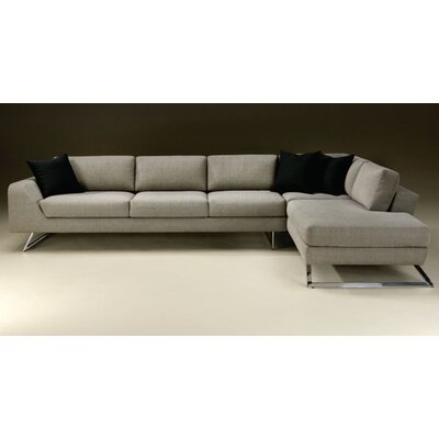 Thayer Coggin Nicolo Right Chaise Sectional Sofa