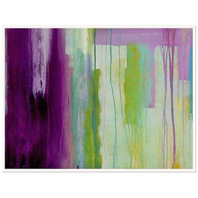 Modern Living Spring Stream Framed Wall Art