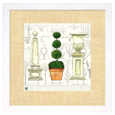 <strong>Indigo Avenue</strong> New Traditions Garden Topiary Framed Art