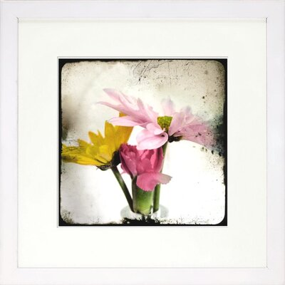 Floral Living Summer Memory 2 Framed Graphic Art
