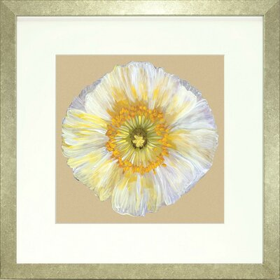 Floral Living Poppy Petals 2 Framed Graphic Art