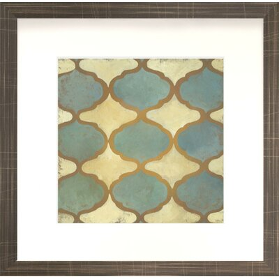 Modern Living Rustic Symmetry I Fine Wall Art
