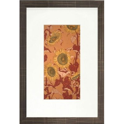 Floral Living Sunflower I Framed Wall Art