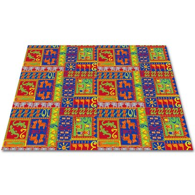 KidCarpet.com Counting Animals Kids Rug