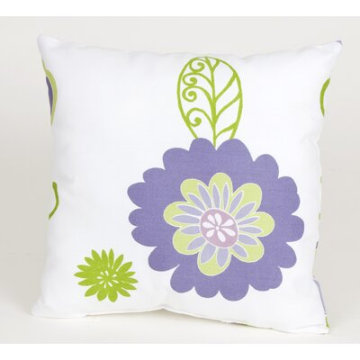 Sweet Potato by Glenna Jean LuLu Flowers Pillow
