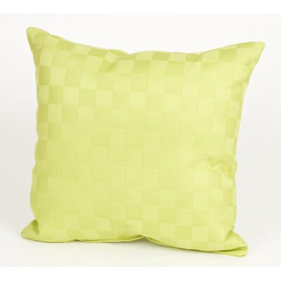 Sweet Potato by Glenna Jean LuLu Pillow with Checker Pattern